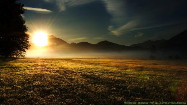 Magic of the rising sun