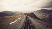 Railway on the mountains