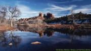 Lake at the winter